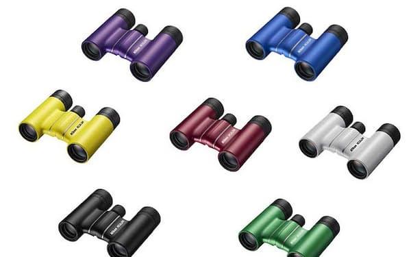 ニコンが発売した双眼鏡のエントリーモデル「ACULON T02」シリーズ。倍率10倍の「ACULON T02 10x21」はブラック1色、同8倍の「ACULON T02 8x21」は6色で展開