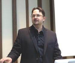 米マイクロソフト Trustworthy Computing ディレクターのティム・レインズ(Tim Rains)氏