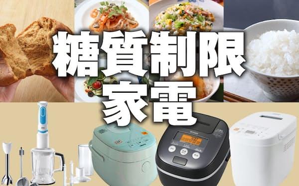 糖質制限を手軽にできる調理家電4製品を紹介する