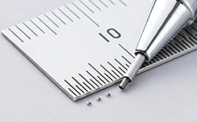外形寸法が小さいPTCサーミスター(出所:村田製作所)