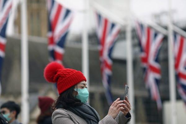 英国では2人の新型肺炎の感染が確認されている=ロイター