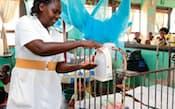 サラヤはウガンダで病院用消毒液の製造を開始