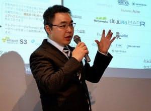 写真1 米トレジャーデータ CEOの芳川裕誠氏