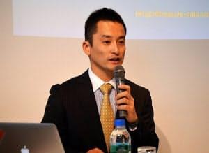 写真2 日本法人トレジャーデータ ジェネラルマネージャーの堀内健后氏