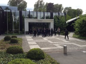 IOC本部は研究機関のような雰囲気がある