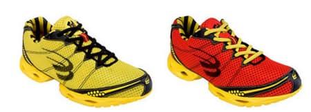 「スティンガー2」(1万5750円)は軽量でスピードトレーニングからトップアスリートのマラソンまで幅広く対応するハイパフォーマンスモデル