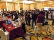 シンガポールで開かれた「カジュアルコネクトアジア2013」の会場の様子