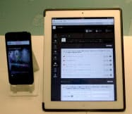 パソコンやタブレットのWebブラウザーで表示した管理画面で、セールス情報やクーポンなどのアプリ向けの配信を設定できる