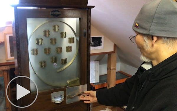 パチンコの起源探れば英国に 銅版画家が収集調査