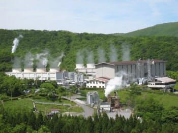 図2 九州電力八丁原地熱発電所(写真:九州電力)