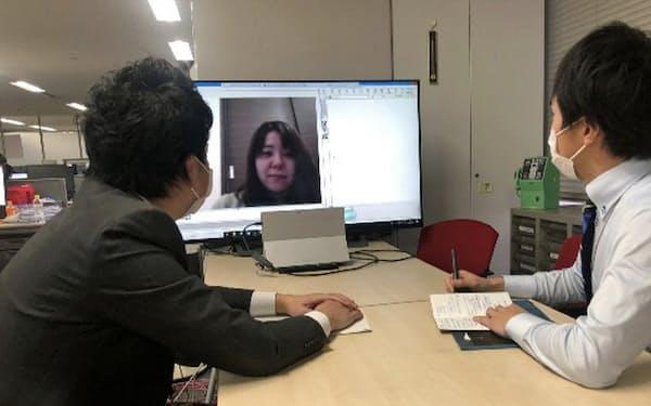 リモートワークを導入する企業が今後も増えそうだ(大阪市のNTT西日本)