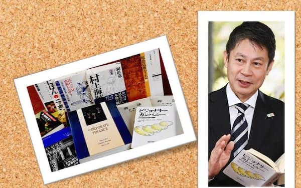 湯崎英彦氏と座右の書・愛読書