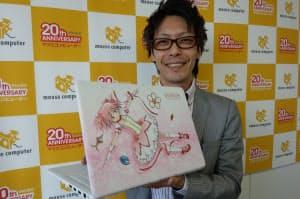 製造協力したのは中堅のマウスコンピューター(東京・台東)。コンシューママーケティング室の杉沢竜也主任は「開発に通常の3倍以上の7カ月かけた」と語る