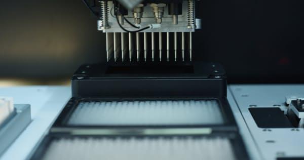 ギンコのナノレベルの試料処理機器(出所:同社)