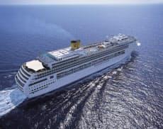 イタリア船のコスタ ビクトリア