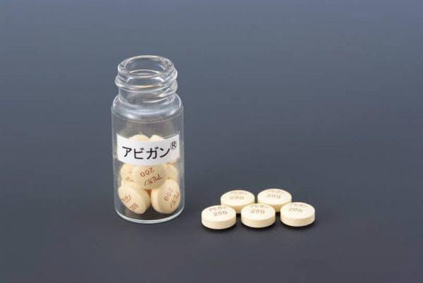 富士フイルムが治験を開始する抗インフルエンザ薬の「アビガン」(提供:富士フイルム)