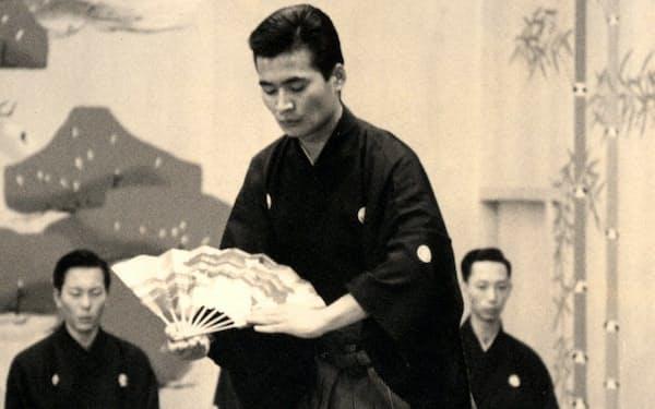 大学3年の時、京都観世会館で