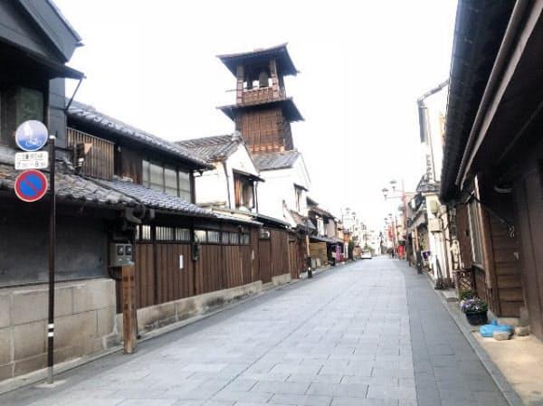 蔵づくりの街並みで知られる埼玉県川越市