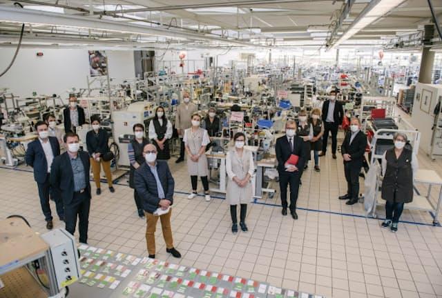 ルイ・ヴィトンは5工場を転用して医療用マスクの生産を開始した