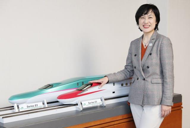 JR東で営業・観光部門を担う阪本未来子常務執行役員