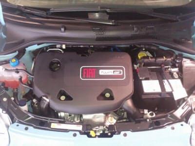 図2 フィアットの「Fiat500 TwinAir」のエンジン (出典:Wikimedia Commons)