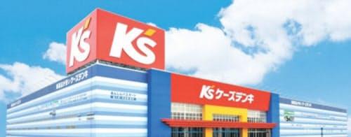 ケーズホールディングスは郊外中心の店舗展開で業績は堅調