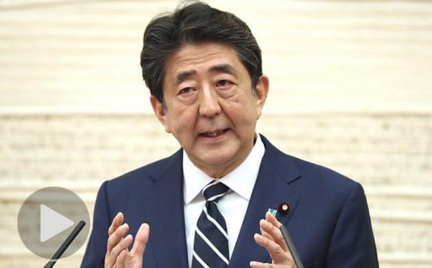 緊急事態を全面解除 首相表明、臨時交付金2兆円増額