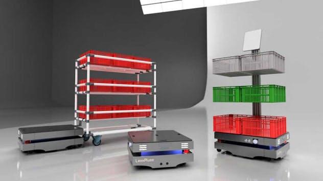 LexxPluss(レックスプラス)が構想しているオープンソース自動搬送ロボットのイメージ