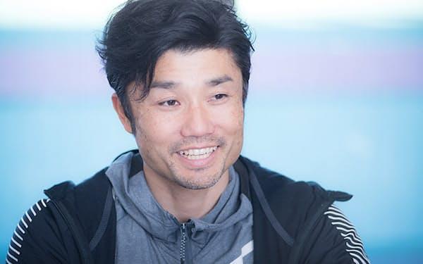 今も現役として走り続ける末続慎吾選手。一度競技から離れた後、復活するまでの間、どのように過ごしていたのかを聞いた。