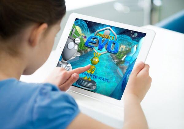 注意欠陥多動性障害(ADHD)を対象とするデジタル治療のイメージ(出所:アキリ・インタラクティブ・ラブズ)