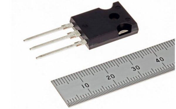 三菱電機の+1200ボルト耐圧のSiCパワーMOSFET(出所:三菱電機)