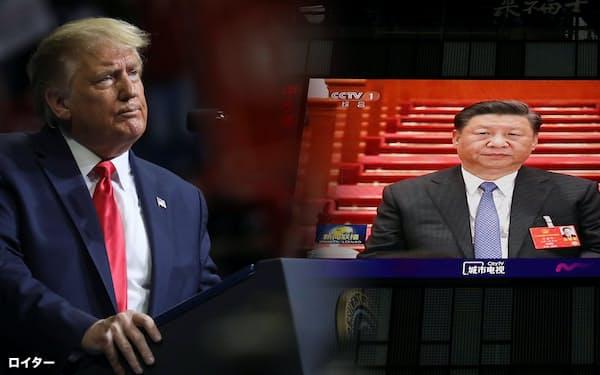 トランプ米大統領は中国批判を強める=ロイター