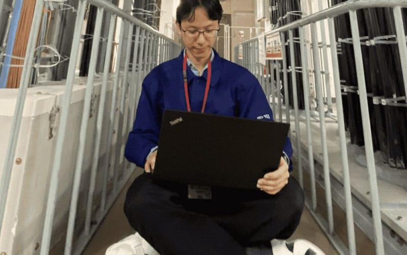 シン・テレワークシステム開発者の1人である登大遊氏=NTT東日本提供