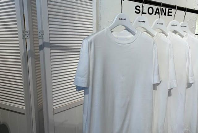ジェンダーレスを意識し、5サイズを展開するSLOANE(スローン) かゆいところに手が届くような配慮の結晶が、メード・イン・ジャパンの白Tシャツの世界