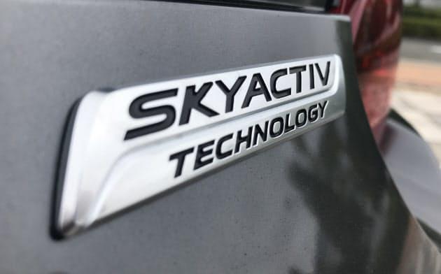 マツダの技術「スカイアクティブテクノロジー」搭載車(写真:日経クロステック)