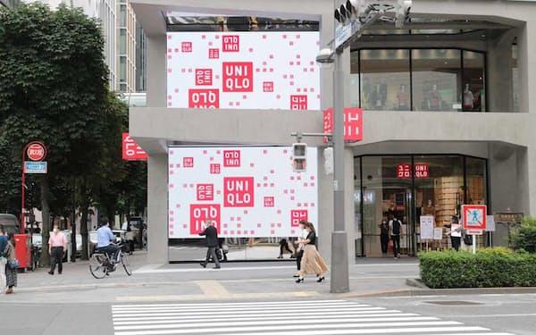 東京都中央区銀座3丁目にある商業ビル「マロニエゲート銀座2」(旧プランタン銀座)内にオープンした「UNIQLO TOKYO(ユニクロ トウキョウ)」。アンバサダーは、女優の宮沢りえと歌舞伎俳優の市川海老蔵が務める