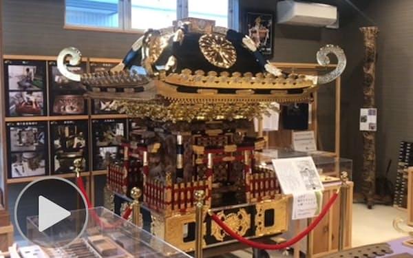 千葉・市川の「行徳神輿」作り、伝統担ぐ5代目