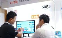 R3の日本での合弁会社SBI R3 JAPANは2019年9月に東京で開催したFIN/SUMで、Cordaを使った貿易金融ネットワーク「Marco Polo」の展示やプレゼンテーションを行った。
