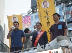 鈴木寛氏はネット企業の経営者の支援を受けるなどIT活用に強いとみられていた