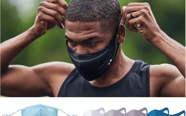 アンダーアーマー、ヨネックス、ミズノなど、スポーツ用マスクに注目