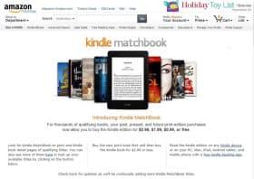 米Amazon.comの新サービス「Kindle MatchBook」