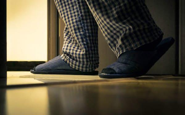 夜間頻尿の原因となる夜間多尿とは? (C)Sergei Dogadin-123RF