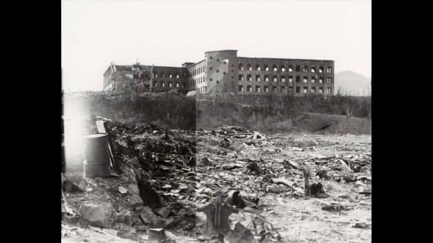 旧城山国民学校(長崎原爆資料館 所蔵)
