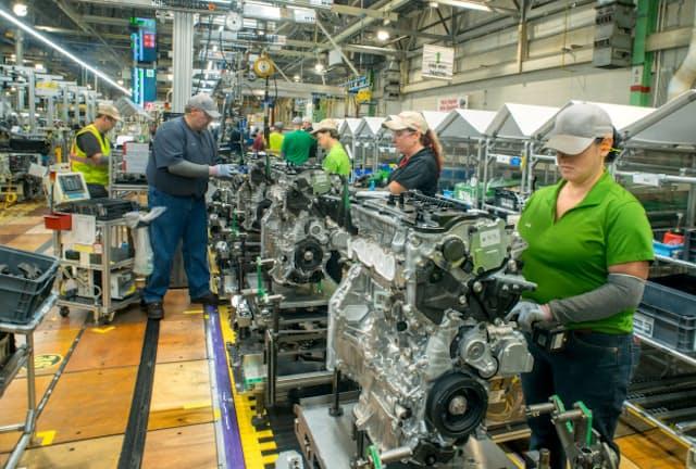 トヨタの米ウェストバージニア工場