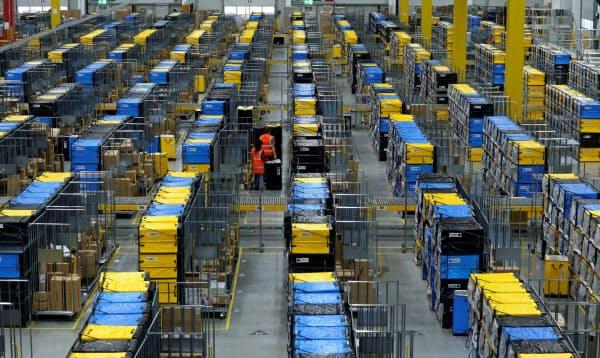 アマゾンは旺盛な通販需要を取り込んだ(独マンハイム)=ロイター