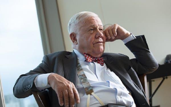 「コロナ・ショックの前から経済危機の兆しは見えていた」と語るジム・ロジャーズ氏(写真:的野弘路)