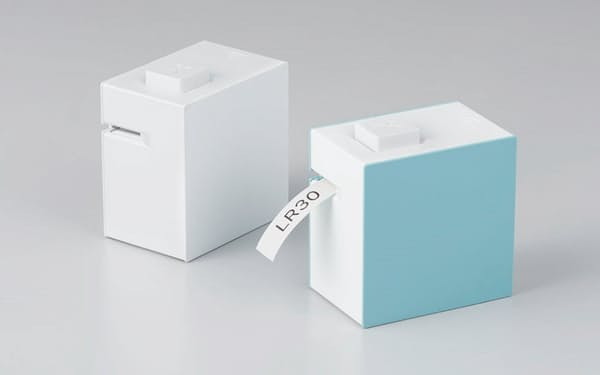 2019年8月に発売した「テプラ」シリーズで初となるスマホ専用の「ラベルプリンター『テプラ』 Lite LR30」