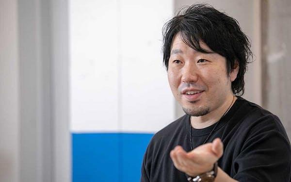グッドパッチ社長兼最高経営責任者の土屋尚史氏(写真:丸毛 透)