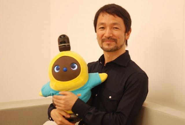 グルーブXの林要社長は家庭向けロボット「ラボット」を家族の一員と位置づける