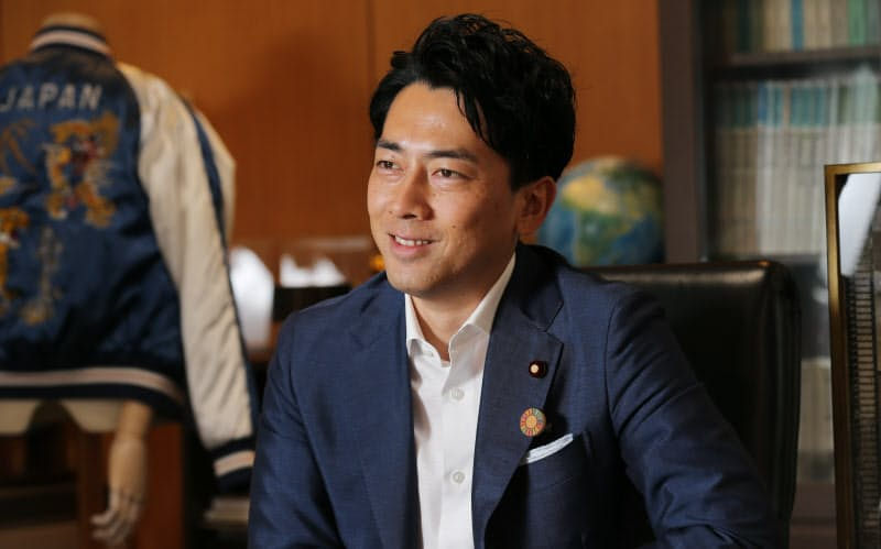 「政治も一人では戦えません」と語る小泉進次郎氏